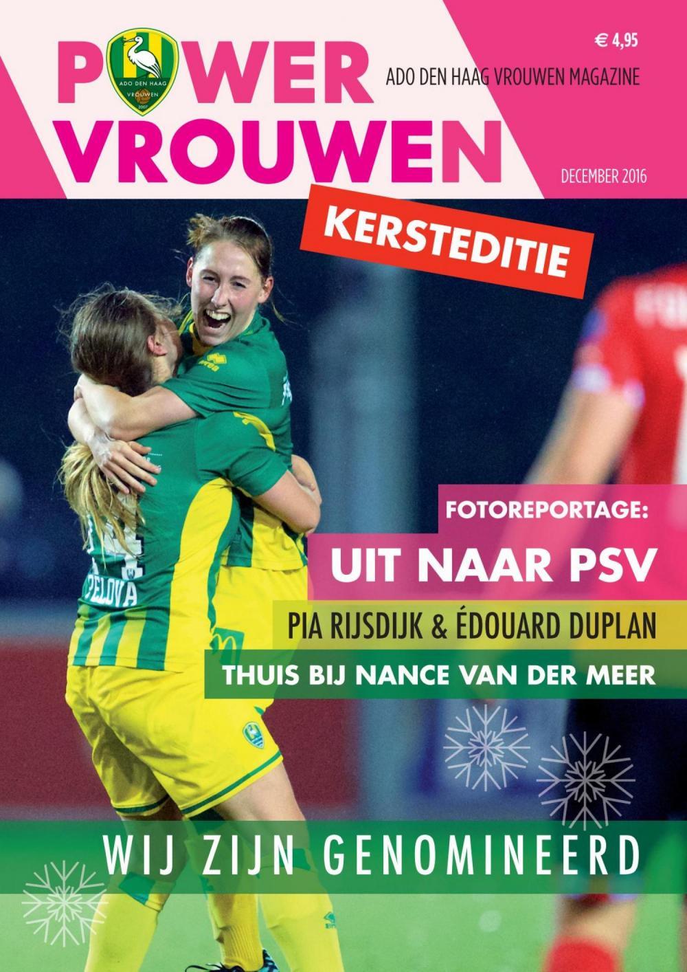 Powervrouwen Magazine december 2016