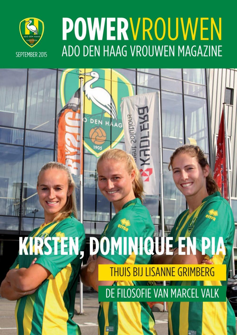 Powervrouwen Magazine september 2015