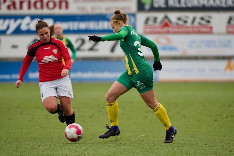 Winst voor Jong ADO Vrouwen in oefenduel tegen FC Rijnvogels VR1