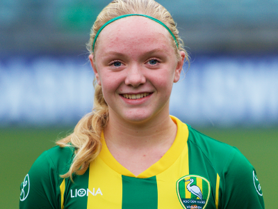 Kayra Nelemans opgenomen in definitieve selectie Oranje O16