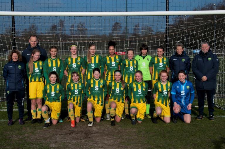 Schaduwteam Jong ADO Den Haag Vrouwen boekt ruime overwinning op Racing Genk
