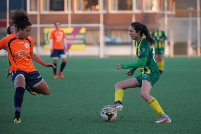 Jong ADO Vrouwen opent tweede seizoenshelft met nederlaag