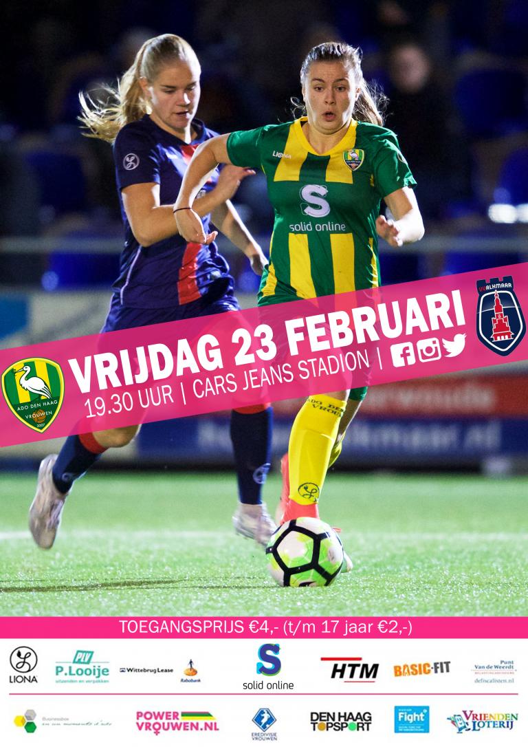 Voorbeschouwing ADO Den Haag Vrouwen – VV Alkmaar