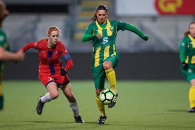 ADO Vrouwen wint, maar grijpt naast play-offs
