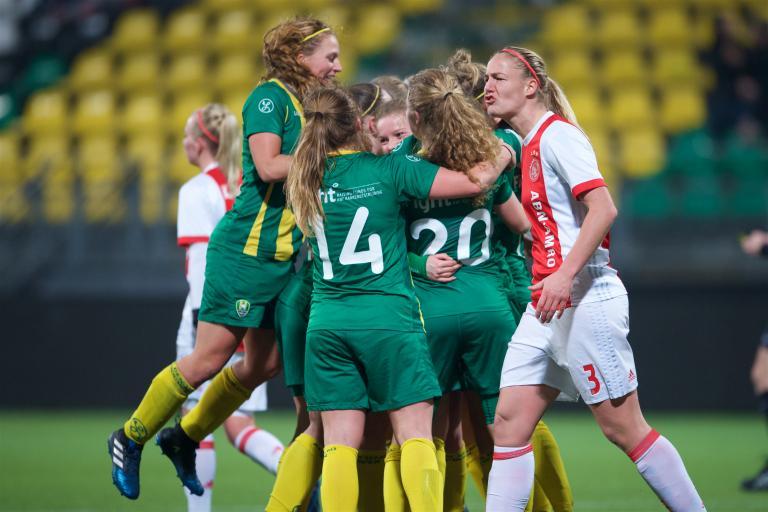 ADO Vrouwen loot Ajax in kwartfinale KNVB Beker