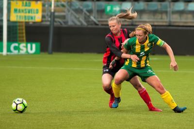 ADO Den Haag Vrouwen blijft ongeslagen in play-offs