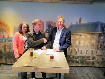 Party Events Company en ADO Den Haag Vrouwen sluiten driejarige sponsorovereenkomst