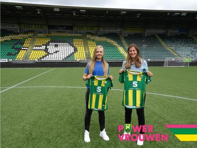 ADO Den Haag Vrouwen versterkt zich met Pia Rijsdijk en Amber Verspaget