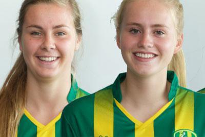 Twee ADO speelsters naar WK O20 in Frankrijk