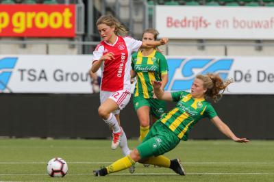 Beter ADO Vrouwen laat Ajax ontsnappen