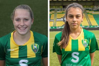 Kathelyn Hendriks en Julia Banwari opgenomen in definitieve selectie Oranje Onder 16