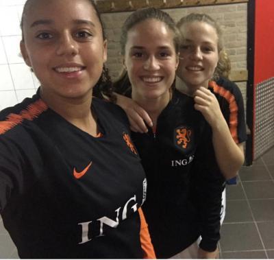 Drie ADO Powervrouwen opgenomen in definitieve selectie Nederlands elftal onder 19
