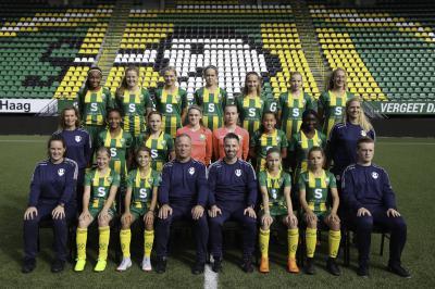 Meiden onder 14 tonen veerkracht in Europa League