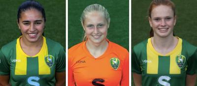 Ilham Abali, Jasmijn de Groot en Liz Rijsbergen in voorlopige selectie
