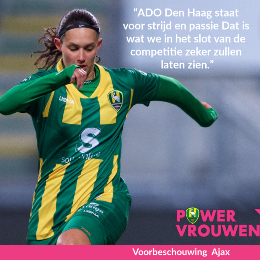 Voorbeschouwing ADO Den Haag Vrouwen – Ajax