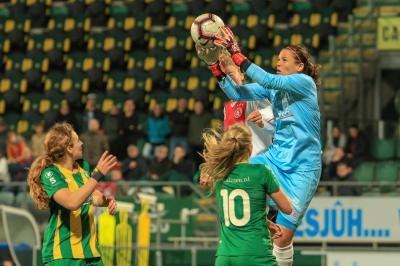 ADO Den Haag Vrouwen maakt met tien 2-0 achterstand goed