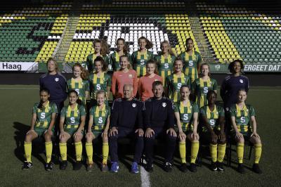 Doelpuntenregen meiden onder 16 in Haaglanden Voetbal-toernooi