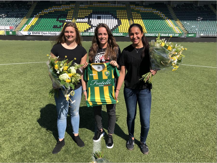Dalebout, Boshuizen & Daal ook komend seizoen bij ADO Vrouwen