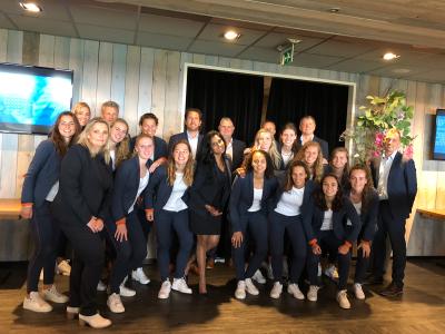 Geslaagde sponsorbijeenkomst ADO Den Haag Vrouwen