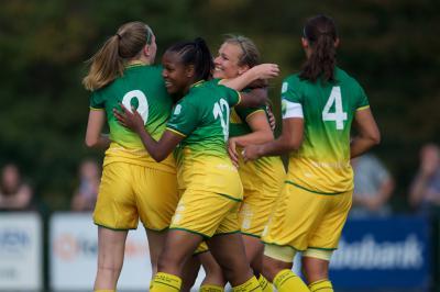 ADO Den Haag Vrouwen is ook Borussia Mönchengladbach de baas