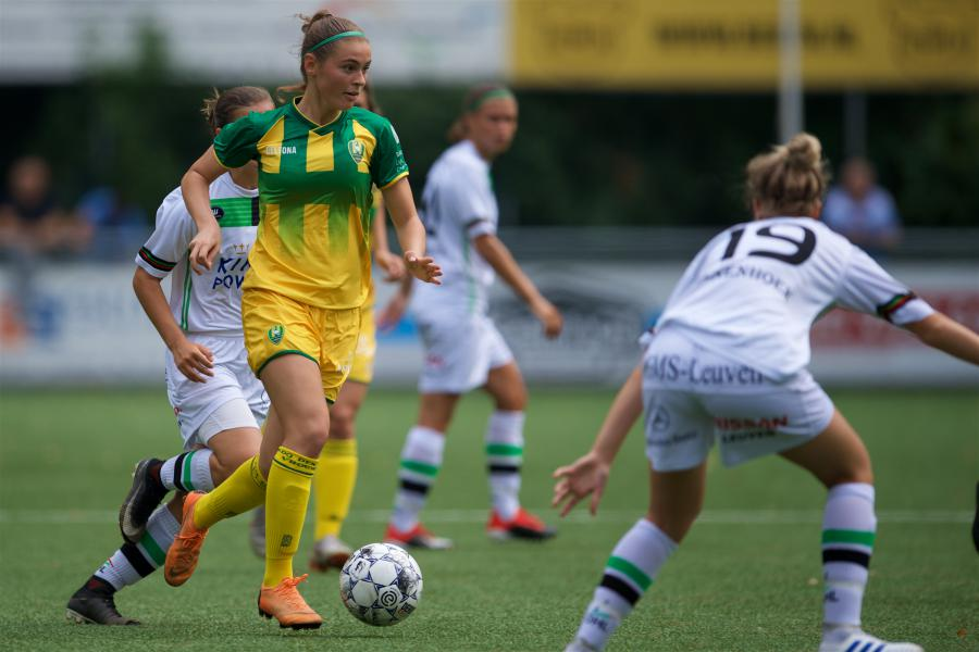 Zes speelsters ADO Vrouwen opgenomen in nationale elftallen