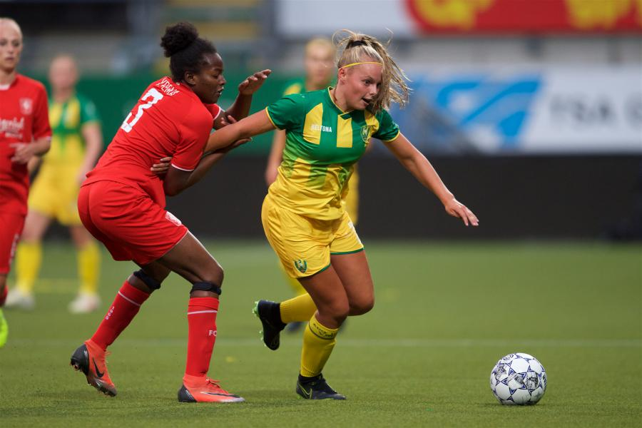 ADO Den Haag Vrouwen verdient tegen Twente applaus, geen punten