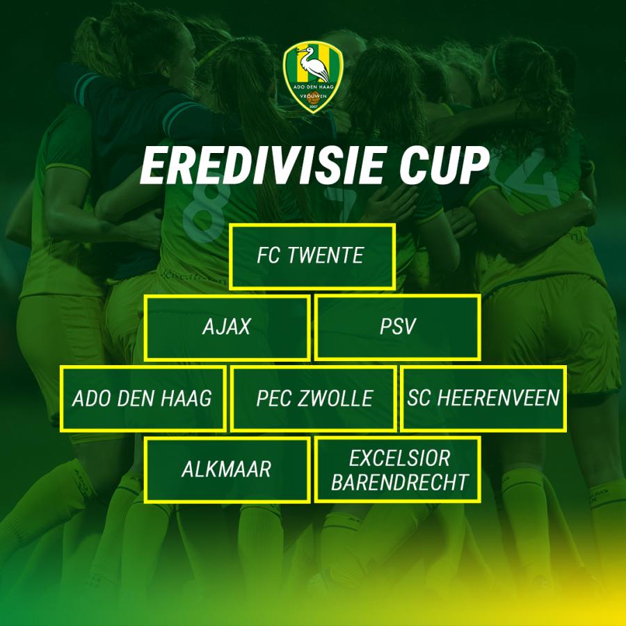 ADO Den Haag Vrouwen start Eredivisie Cup bij VV Alkmaar
