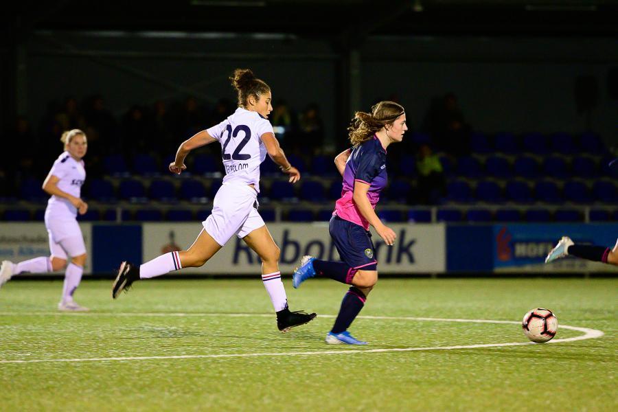 Alkmaarse puntendeling ADO Den Haag Vrouwen in Eredivisie Cup