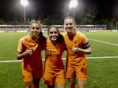 Grant,  Hendriks en Abali in voorlopige selectie Oranje O19