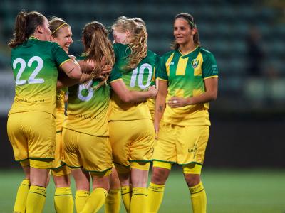 Drie voortreffelijke goals goed voor cupzege ADO Den Haag Vrouwen