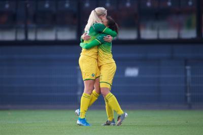 ADO Den Haag Vrouwen loot FC Berghuizen in KNVB Beker