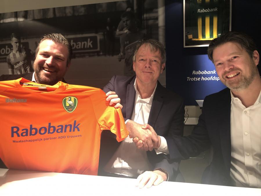Rabobank Regio Den Haag maatschappelijk partner ADO Vrouwen