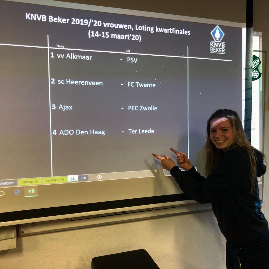 ADO Vrouwen treft Ter Leede in kwartfinale KNVB Beker
