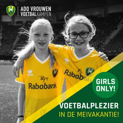 ADO Den Haag Vrouwen Voetbalkamp in de meivakantie