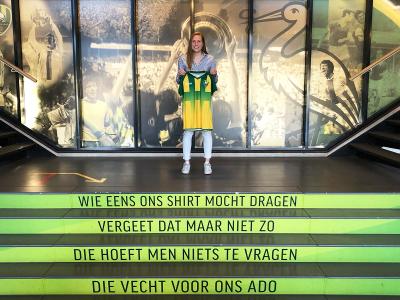 Katelyn Hendriks mikt op 10 voor Eredivisiedebuut