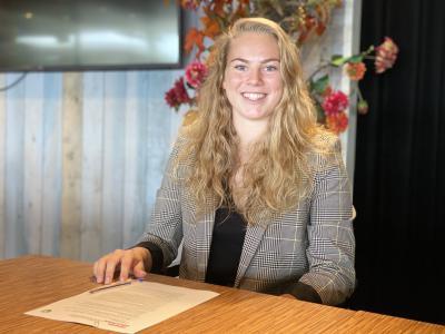Gwyneth Hendriks nog een jaar bij ADO Den Haag Vrouwen