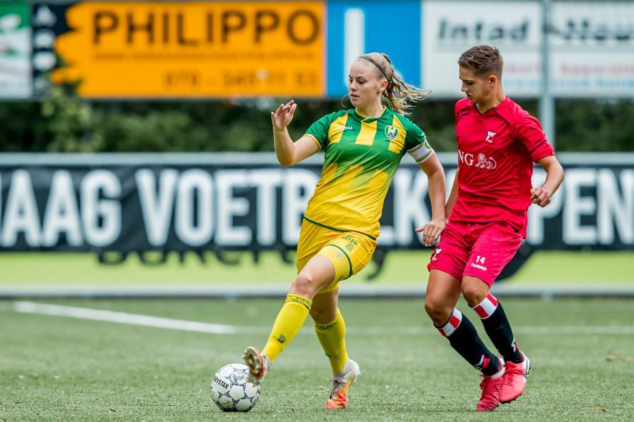 Alex Scholte dwingt ADO Den Haag Vrouwen lat hoger te leggen