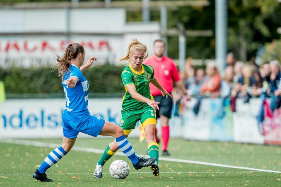 ADO Den Haag Vrouwen met lege handen terug uit Zwolle