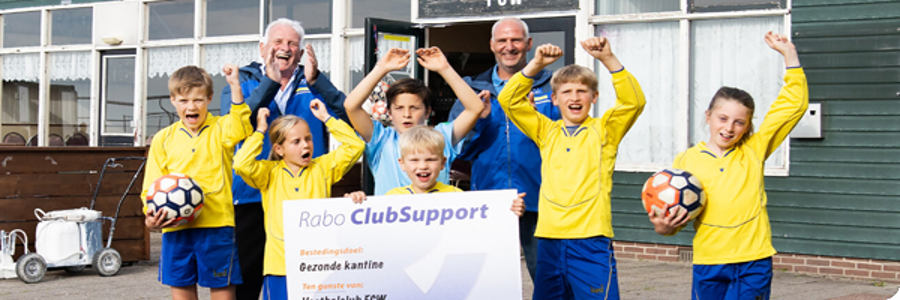 Rabo ClubSupport-actie 5 tot 25 oktober