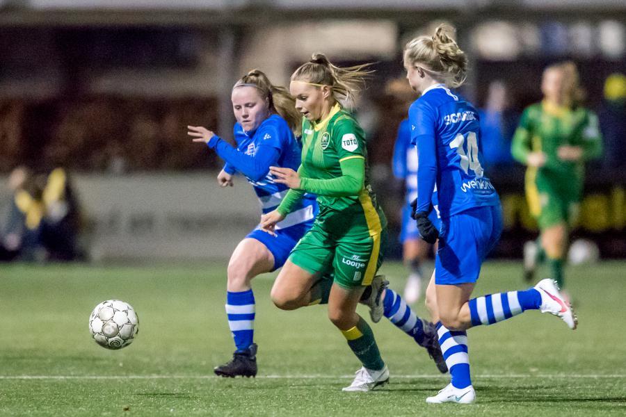 Cupnederlaag ADO Den Haag Vrouwen in Zwolle