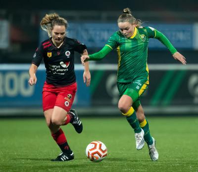 Uitduel tegen Excelsior voor ADO Vrouwen in kwartfinale KNVB beker