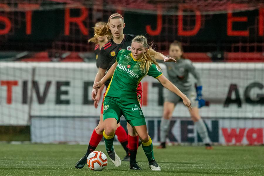 ADO Vrouwen met overmacht naar halve finale bekertoernooi