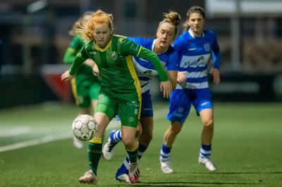 ADO Den Haag Vrouwen verliest in slotfase in Eredivisie Cup