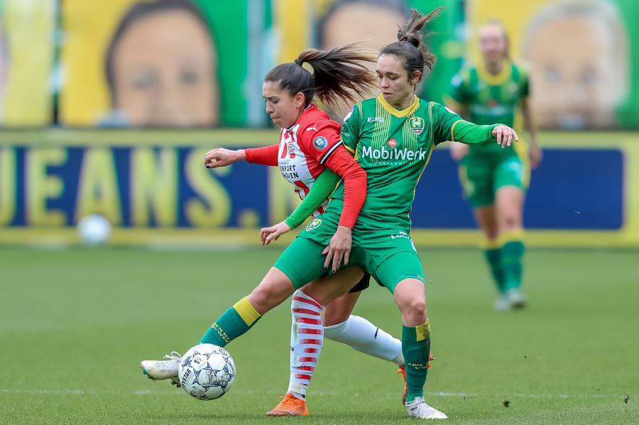 ADO Den Haag Vrouwen dwingt PSV puntendeling af