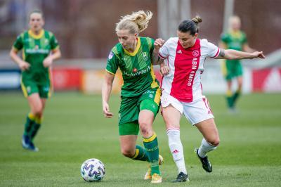 ADO Den Haag Vrouwen stunt niet tegen Ajax