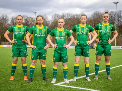 ADO Den Haag Vrouwen zet zich in voor campagne Team La League