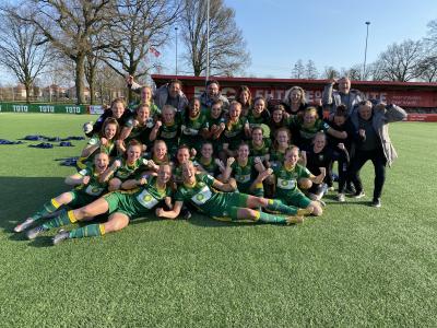 ADO Den Haag Vrouwen naar vierde bekerfinale