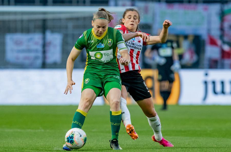 Voortreffelijke bekerfinale ADO Den Haag Vrouwen niet beloond