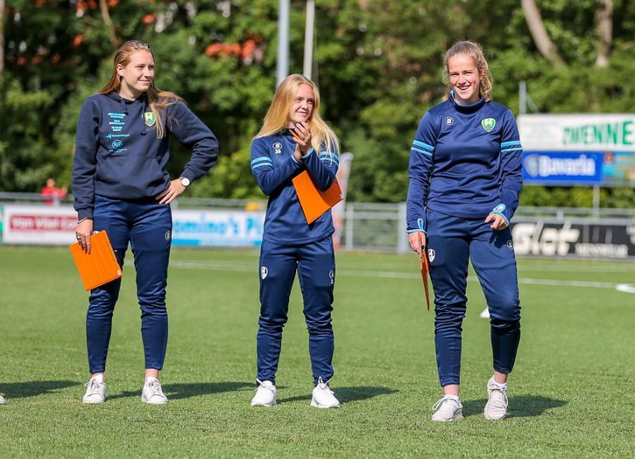 Jonger Oranje Talentendag met ADO Den Haag Vrouwen