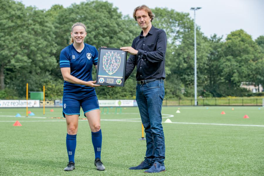 NV ADO Den Haag en PLYRS tonen waardering na succesvol seizoen
